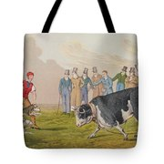 Bull Baiting Tote Bag