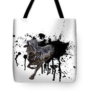 Bull Breakout Tote Bag by Daniel Hagerman