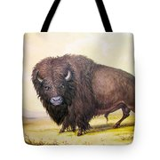 Bull Buffalo Tote Bag