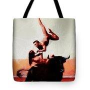Bull Dancers Tote Bag