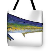 Bull Dolphin Tote Bag