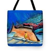 Bull Hogfish Tote Bag