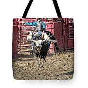 Bull In The Air Tote Bag