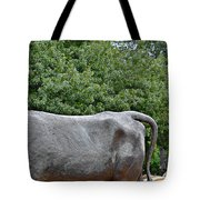 Bull Market Quadriptych 4 Of 4 Tote Bag by Christine Till