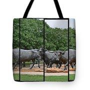 Bull Market Quadriptych Tote Bag