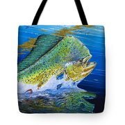 Bull Reflection Off0032 Tote Bag