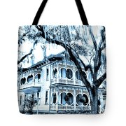Bull Street House Savannah Ga Tote Bag