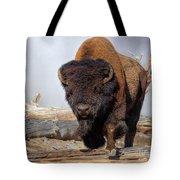 Bull Strut Tote Bag