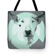 Bull Terrier Graphic 3 Tote Bag
