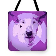 Bull Terrier Graphic 5 Tote Bag