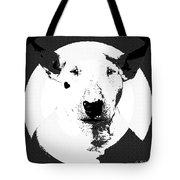 Bull Terrier Graphic 6 Tote Bag
