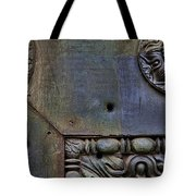 Bullet Holes At The Pantheon Tote Bag