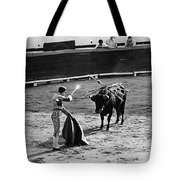 Bullfighter And The Lady Homage 1951 Bullfight Nogales Sonora Mexico Tote Bag