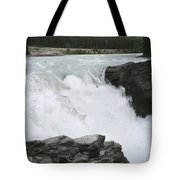 Bulls Horses Rock And Water Tote Bag
