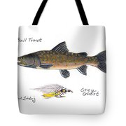 Bulltrout And Grey Ghost Fly Tote Bag