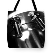 Bults Black  White Tote Bag