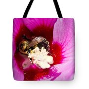 Bumble Bee Vi Tote Bag