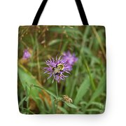 Bumblebee On Flower Tote Bag