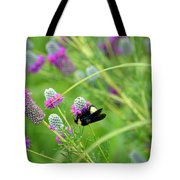 Bumbling Around Tote Bag