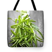 Bunch Of Fresh Rosemary Tote Bag