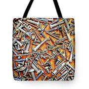 Bunch Of Screws 1- Digital Effect Tote Bag