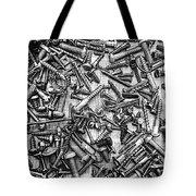 Bunch Of Screws 3- Digital Effect Tote Bag