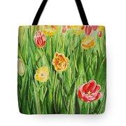 Bunch Of Tulips II Tote Bag