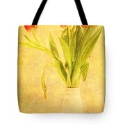 Bunch Of Tulips Tote Bag