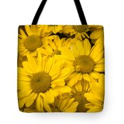 Bunch Of Yellow Daisies Tote Bag