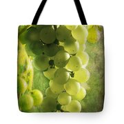 Bunch Of Yellow Grapes Tote Bag