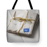 Bundle Of Vintage Letters Tote Bag