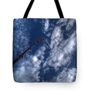 Bungee Jumper Hdr Tote Bag