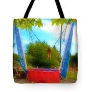 Bungee Trampoline Tote Bag