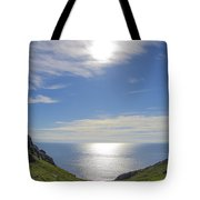 Bunglass Donegal Ireland - Seascape Tote Bag