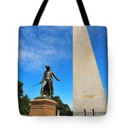 Bunker Hill Monument Tote Bag