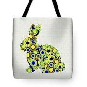 Bunny - Animal Art Tote Bag by Anastasiya Malakhova