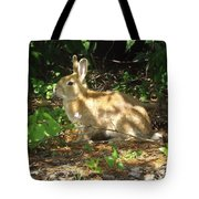 Bunny In The Wild 2 Tote Bag