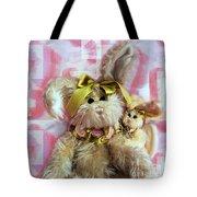 Bunny Rose Tote Bag