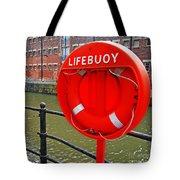 Buoy Foam Lifesaving Ring Tote Bag by Luis Alvarenga