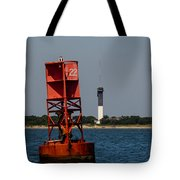 Buoy To Lighthouse Tote Bag
