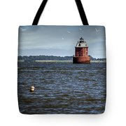 Buoy What A Lighthouse Tote Bag