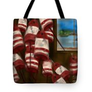 Buoys With A View      Tote Bag