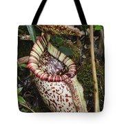 Burbidges Pitcher Plant Sabah Borneo Tote Bag