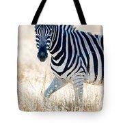 Burchells Zebra Equus Quagga Tote Bag