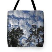 Burden Sky Tote Bag