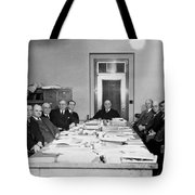Bureau Of Navigation Meeting Tote Bag