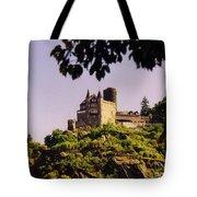 Burg Katze Castle On The Rhine Tote Bag