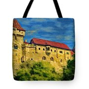 Burg Liechtenstein Tote Bag