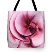 Burgandy Silk Tote Bag