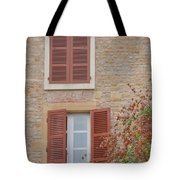Rust Coloured Shutters Tote Bag